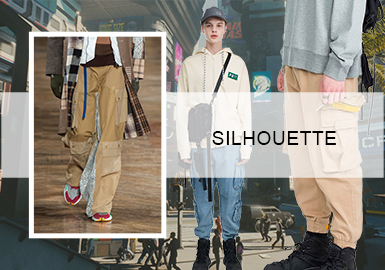 Emerging Workwear -- The Silhouette Trend for Men's Workwear Pants