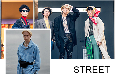 Confident -- The Comprehensive Analysis of Street Snaps of Menswear