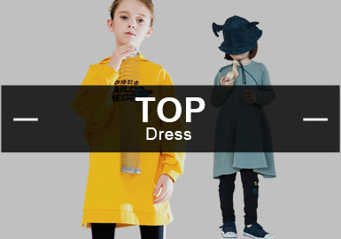 The Dress -- The Analysis of Popular Girls' Items