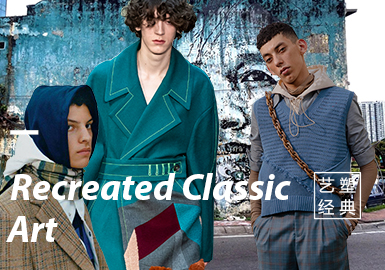 Recreated Classic Art -- The Thematic Fabric Trend for Menswear