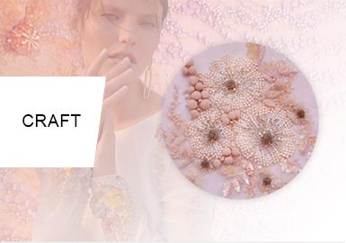 Opulent Beading -- The Craft Trend for Womenswear(Wedding Dress)