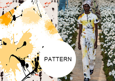 Magic Splattering -- The Pattern Trend for Menswear
