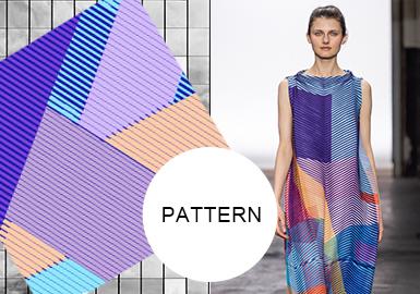 Geometrics -- The Pattern Trend for Womenswear