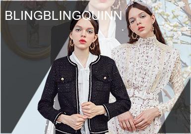 Noble Maiden-- BlingBlingQuinn Womenswear Designer Brand
