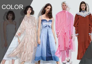 The Nature of Ladies-- The Comprehensive Analysis of Designer Brands Colors