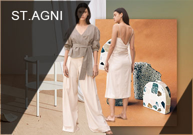 Medieval Architectural Aesthetics-- ST.AGNI Womenswear Designer Brand Recommendation