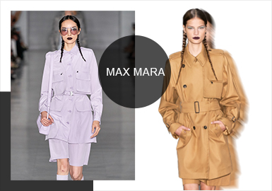 The Female Bond in The New Era--- The Catwalk Analysis of Max Mara Womenswear