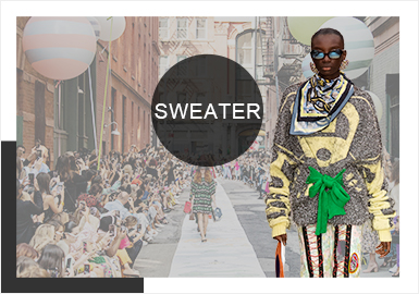 Diversified Mixing-- The Comprehensive Analysis of New York/ London Catwalks for Womenswear Knitwear