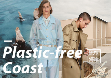 Plastic-Free Coast -- The Confirmation of Menswear Theme Colors