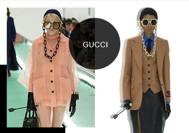The Art Laboratory-- The Catwalk Analysis of Gucci Womenswear