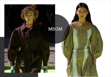 Fashionable Girls-- The Catwalk Analysis of MSGM Womenswear