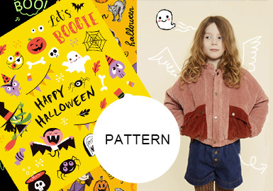 Halloween Party -- The Pattern Trend for Kidswear