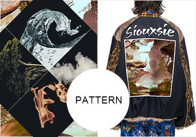 Conversation With The Nature-- The Pattern Trend for Leather And Fur of Menswear