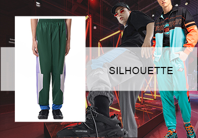 Lightsome and Fast- The Silhouette Trend for Mens' Athleisure Trousers