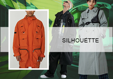 Intelligent Production- The Silhouette Trend for Mens' Trench Coats