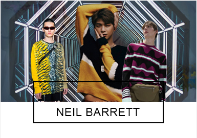 Fashionable and Classic- Neil Barrett The Benchmark Brand Analysis of Mens' Knitwear