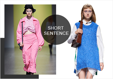 Mark Beauty- The Catwalk Analysis of Short Sentence Womenswear