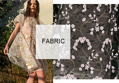 Barely-there Temptation- The Lace Fabric Trend for Womenswear
