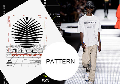 Linear Graphic and Text- The Pattern Trend for Menswear