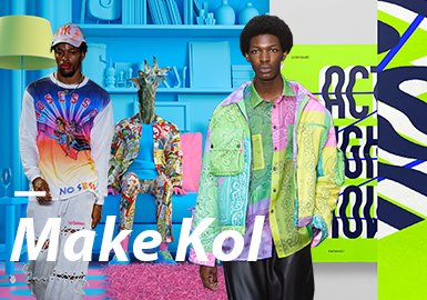 MAKE KOL- The Confirmation of Menswear Theme Colors