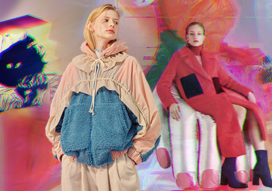 New Look of Artificial Goods- The Thematic Color Trend for Women's Fur Clothing