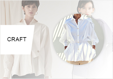 New Tailoring- The Craft Trend for Women's Shirts