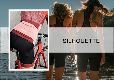 Extreme Cycling- The Silhouette Trend for Women's Sportswear