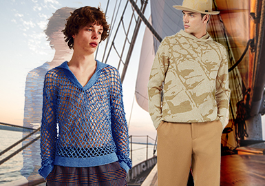 Leading The Urban Fashion- The Thematic Color Trend for Men's Knitwear