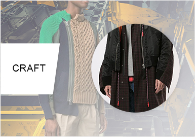 Special Deconstruction- The Splicing Craft Trend for Menswear