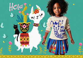 Soft Alpaca- The Pattern Trend for Kidswear