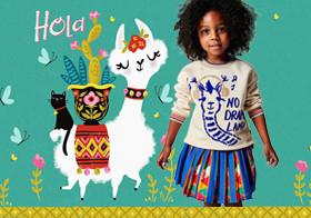 Soft Alpaca- The Pattern Trend for Kidswear