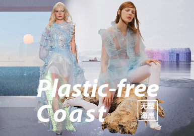 Plastic-free Coast- The Confirmation of Womenswear Theme Colors