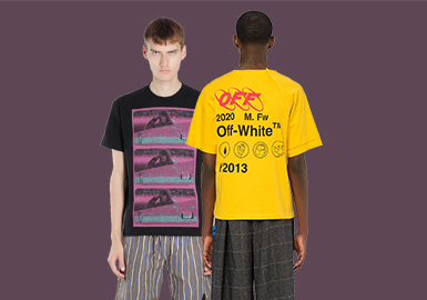 Funny Streets- The Comprehensive Analysis of T-shirts of Menswear Designer Brands