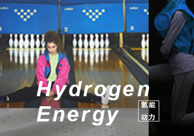 Hydrogen Energy- The Confirmation of Womenswear Theme Colors