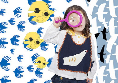 The Dove and The Seagull- The Pattern Trend for Kidswear