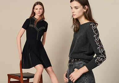 Simple Knitwear- Sandro The Benchmark Brand Analysis of Women's Knitwear