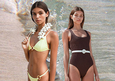 Freedom -- The Silhouette Trend for Women's Swimsuits