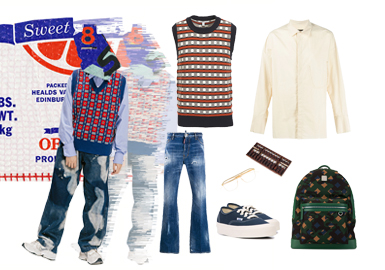 Memories of Youth -- Clothing Collocation of Men's Knitwear