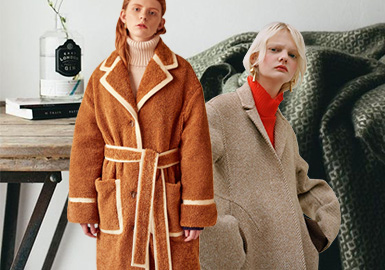 Soft Texture -- The Fabric Trend for Women's Overcoats