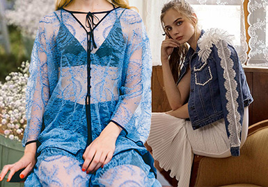 Soft Sentiments -- The Lace Fabric Trend for Womenswear