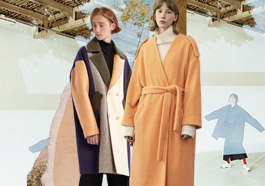 Japanese Magazine Style -- The Silhouette Trend for Women's Overcoats