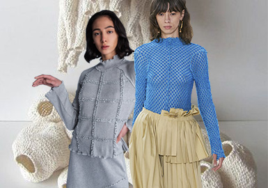 Marine Environment -- The Trend for Womenswear Knitted Fabric