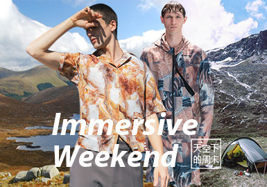 Immersive Weekend -- The Pattern Trend for Menswear