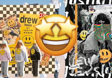 Chic and Funny Emoji -- The Pattern Trend for Clothing