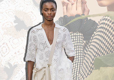 Salute The Past and Redefine The Future -- The Craft Trend for Women's Knitwear (Crocheting)