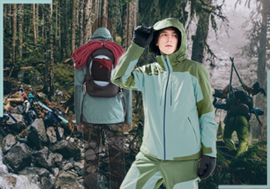 Reaching the Peak -- The Craft Silhouette for Men's Outdoor Jackets