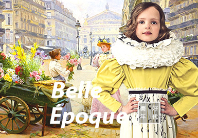 Belle Époque -- S/S 2021 Theme Trend for Kidswear