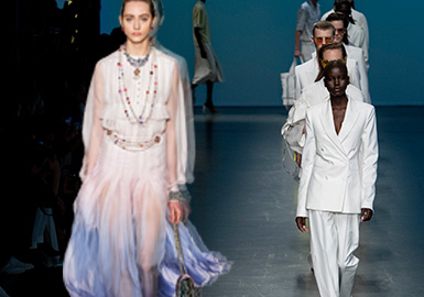 Elegant Performance -- The Comprehensive Analysis of Womenswear Catwalks