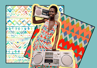 Colorful Slow Life in Cape Town -- The Pattern Trend for Womenswear