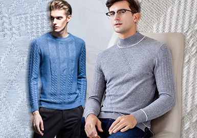 Time -- The Craft Trend for Men's Knitwear